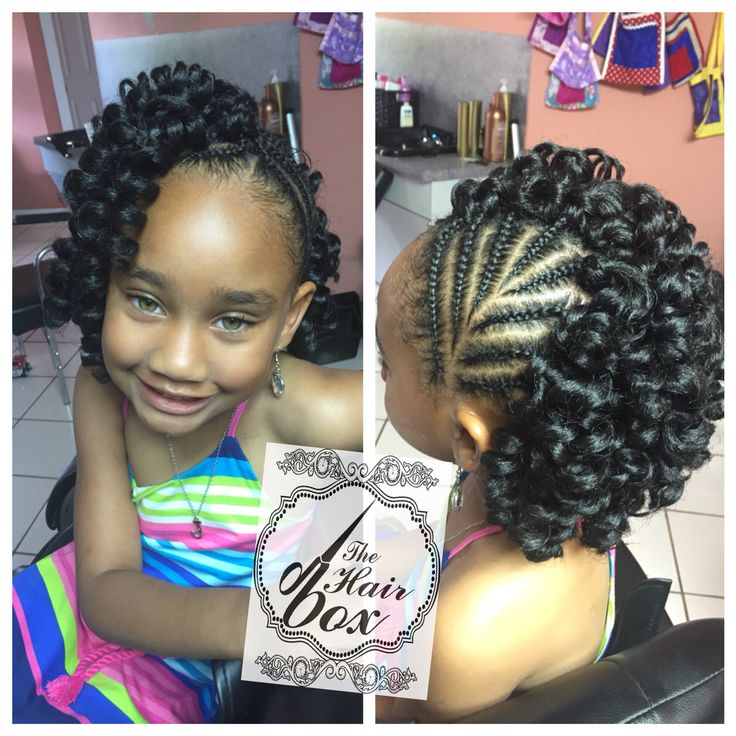 Pretty Hairstyles For N American : 9 best lil gir scalp braids images on pinterest