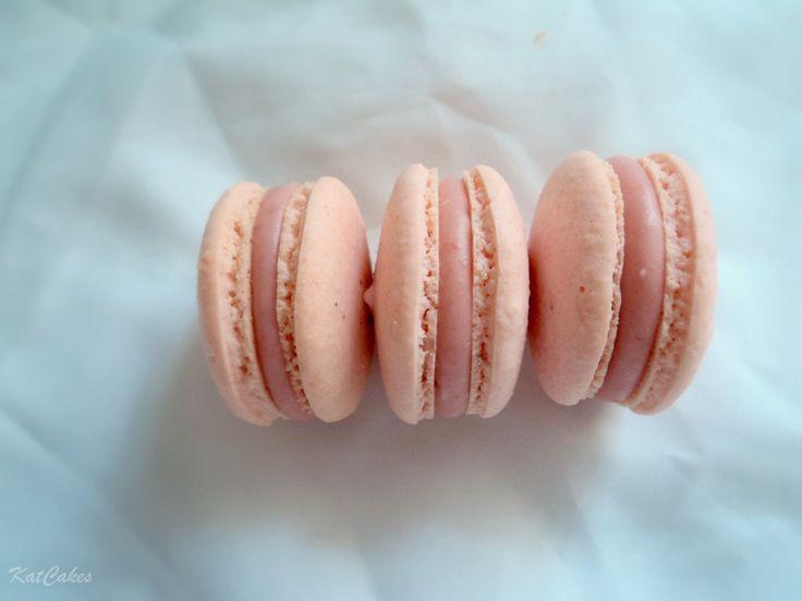 Strawberry Bubblegum Macarons
