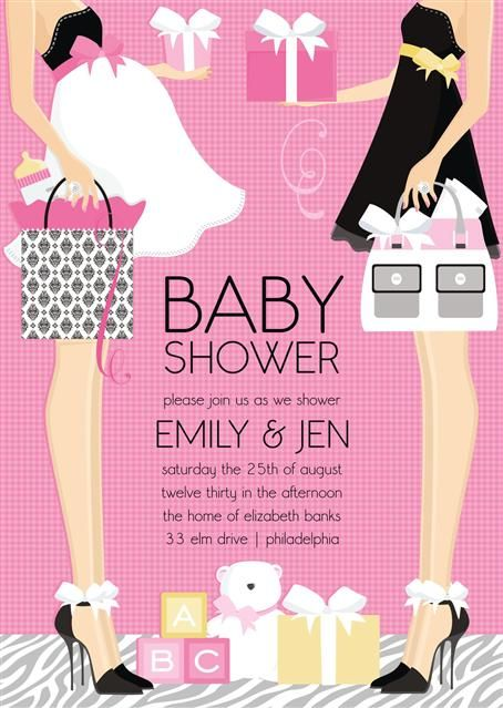 Digital Baby Shower Invitations