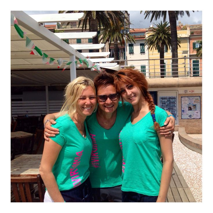 Girls! #bagnivirginia #beach #Loano #Liguria #Italy