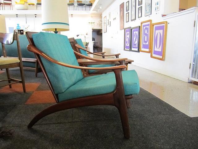 low slung danish armchair by komfort of denmark sold by Mod Livin', via Flickr