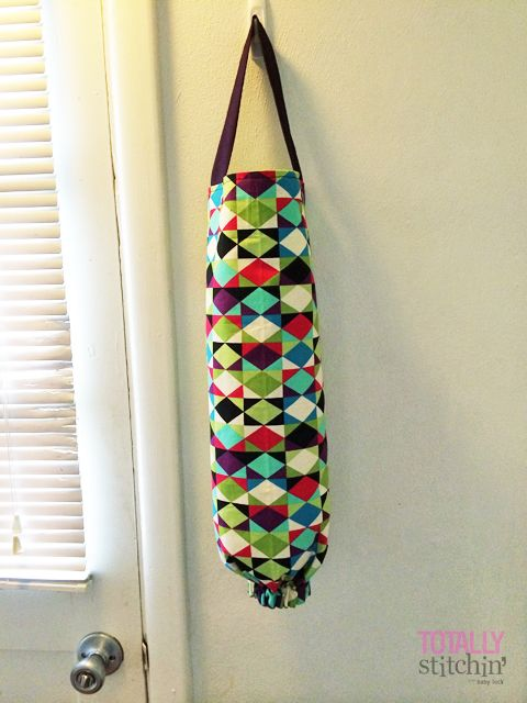 Easy Grocery Bag Holder Tutorial