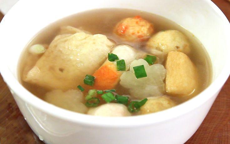 Eomukguk (Fish cake soup) recipe
