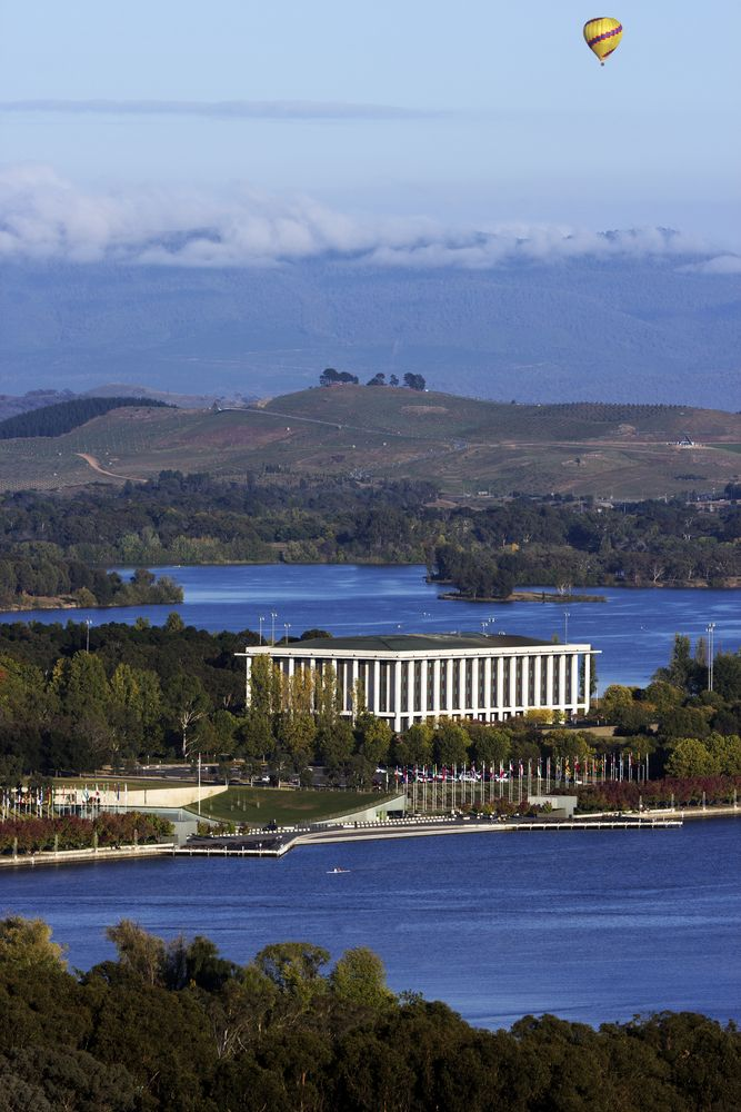 National Library of Australia - Canberra, Australia
