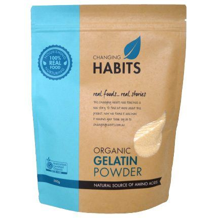 Gelatin Powder – 500g | Changing Habits $40