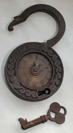 Unsual lock or clock