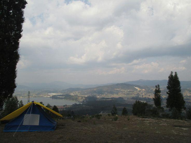 #camping #lake  #sochagota  Boyacá. Co