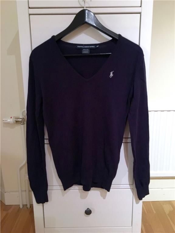 Ralph Laurent - tröja i mörkblått - small dam 99 kr