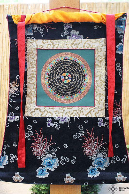 Beautiful Buddhist Mandala Thangka