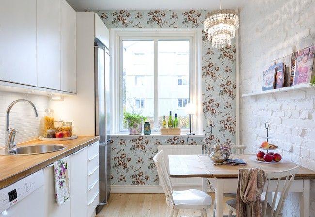HappyModern.RU | 50 идей дизайна кухни в  хрущевке (фото) | http://happymodern.ru
