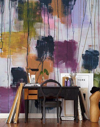 Wild About Wallpaper: 25 Cool & Pretty Patterns via @Gilda Anderson Locicero Therapy