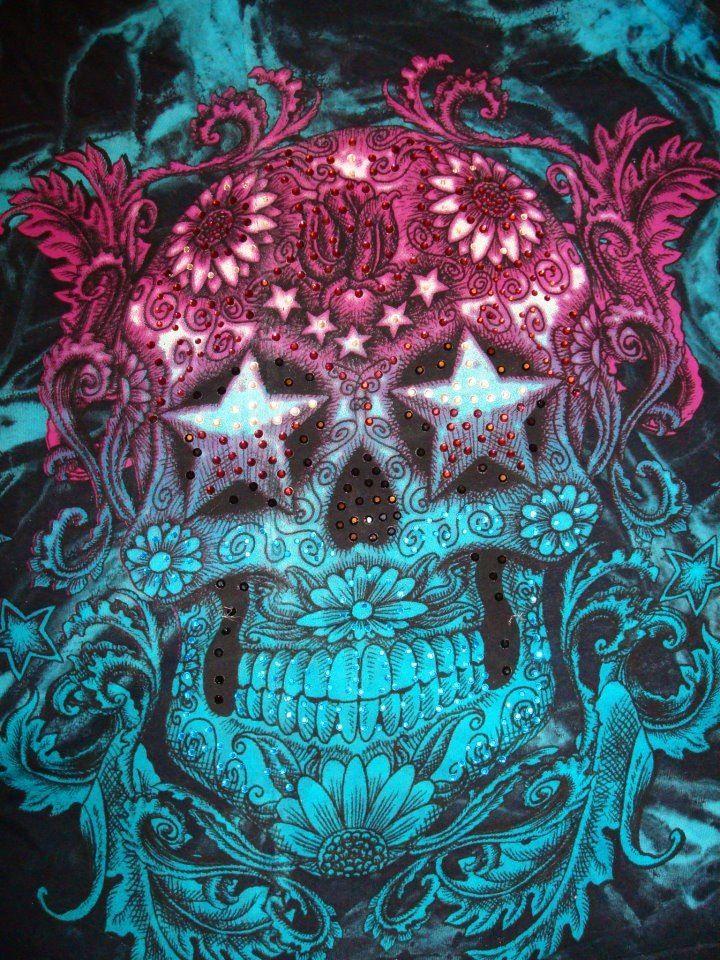 wallpaper additionally sugar skull - photo #24