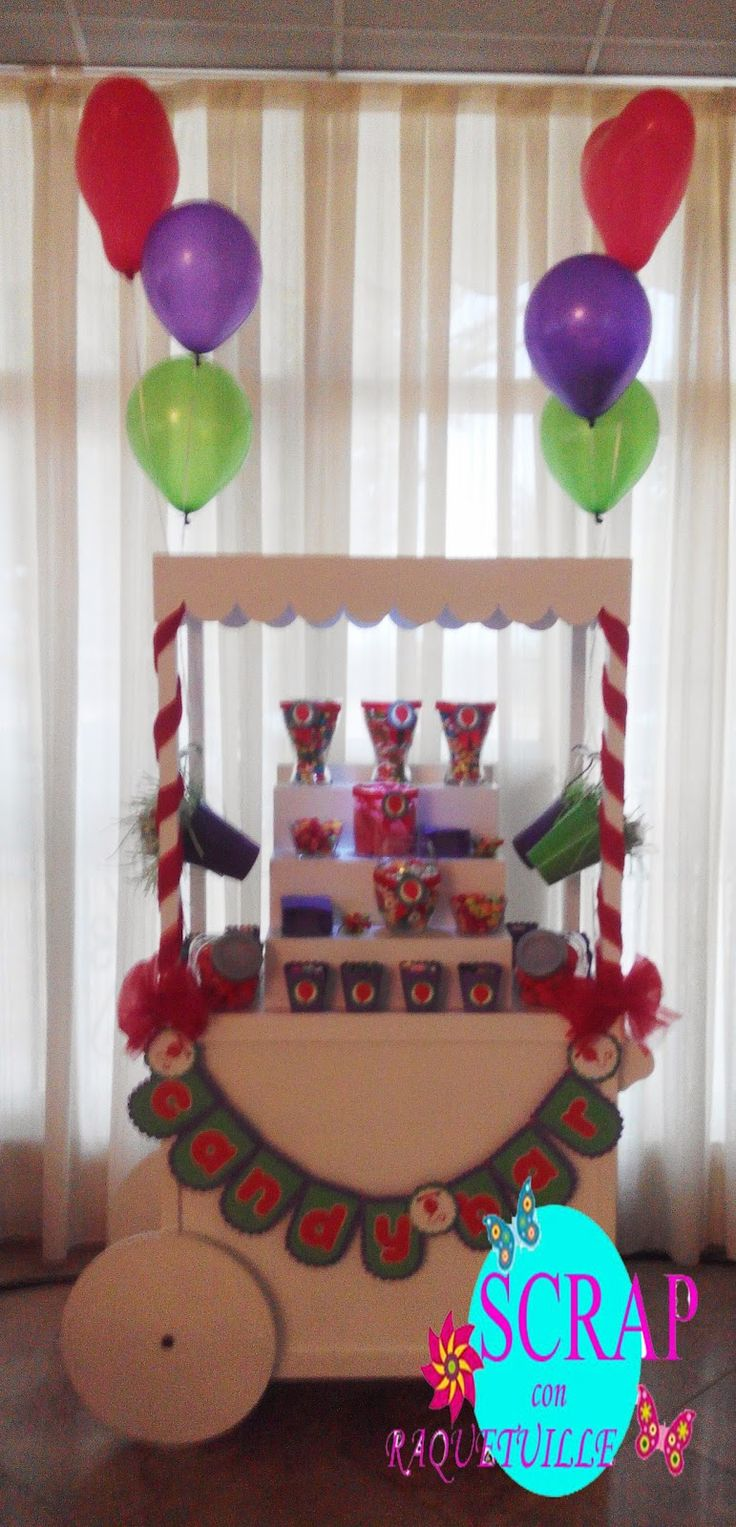 Scrap con Raquetuille: Carro Candy Bar