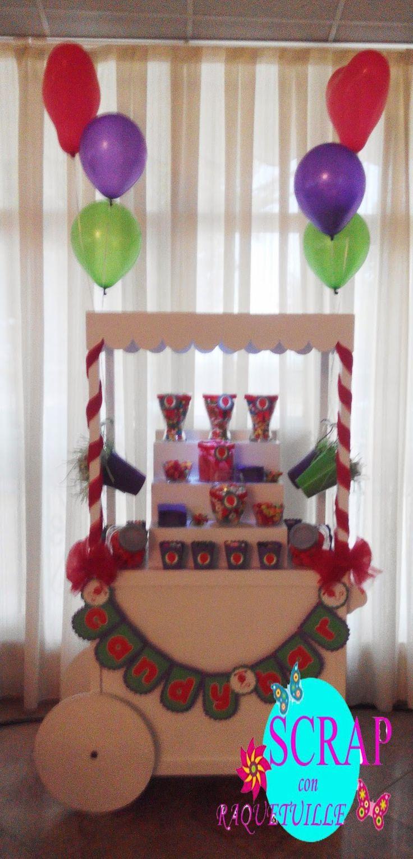 Scrap con Raquetuille: Carro Candy Bar