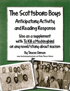 Scottsboro Boys Reading Activity - Use with To Kill a Mockingbird or with any unit covering racism, civil rights, injustice