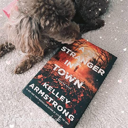 Click on the image to read my complete book review. #bookstadog #poodles #poodlestagram #poodlesofinstagram #furbabies #dogsofinstagram #bookstagram #dogsandbooks #bookishlife #bookishlove #bookstagrammer #books #booklover #bookish #bookaholic #reading #readersofinstagram #instaread #ilovebooks #bookishcanadians #canadianbookstagram #bookreviewer #bookcommunity #bibliophile #astrangerintown #kelleyarmstrong #minotaurinfluencers #currentread