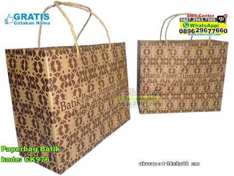 Paperbag Batik Hub: 0895-2604-5767 (Telp/WA)paperbag,paper bag,paper bag murah,paper bag murah unik,paper bag cantik,paper bag grosir,grosir paper bag murah,kemasan paper bag,jual kemasan paper bag,jual paper bag  #paperbagcantik #paperbag #grosirpaperbagmurah #jualpaperbag  #kemasanpaperbag #paperbaggrosir #paperbagmurah #souvenir #souvenirPernikahan
