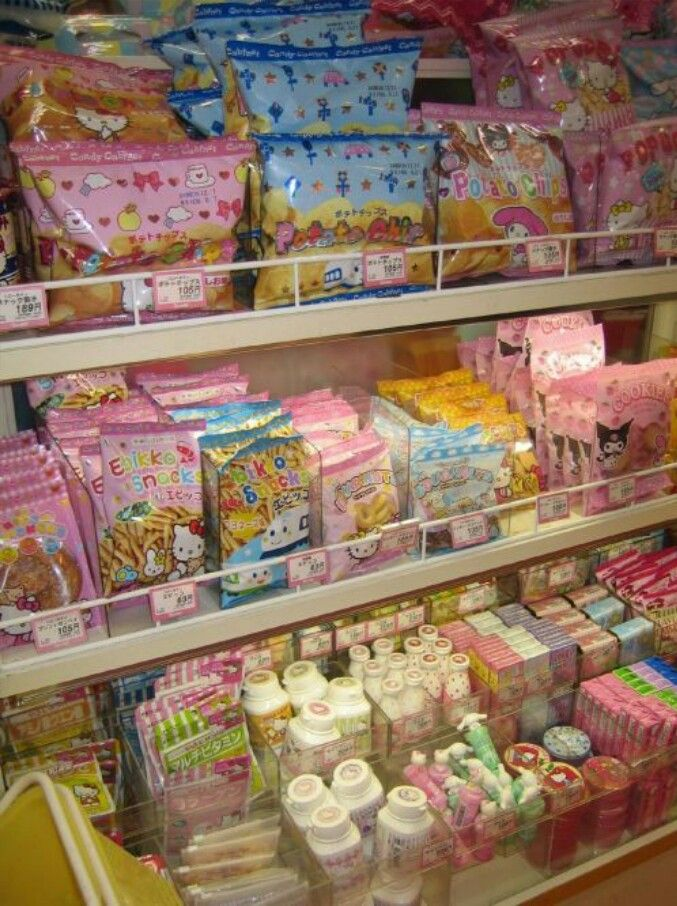 Japanese candy...this is why I need to visit japan!! (~ ̄▽ ̄)~