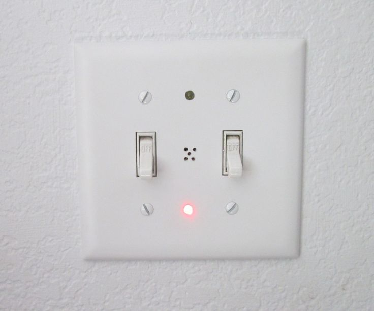 My objective was to have a visual indicator on the interior wall that showed that the garage door was open during the day and once it got dark outside an audible one to indicate that it had been left open. I used a simple circuit using two common IC's that only receive power once the garage door is opened. During the day the switch plate shows a single red blinking led to indicate the garage is open. Once it gets dark outside the blinking red led is accompanied by a white led and an audib...
