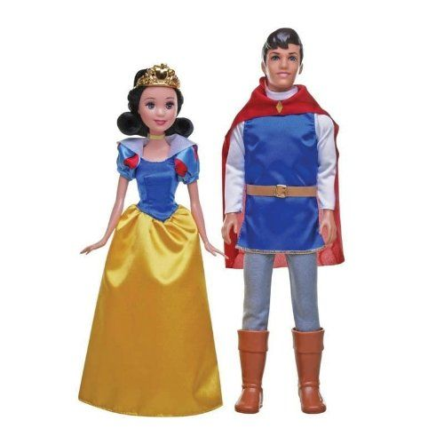 Disney Princess Snow White and the Prince 2 Doll Playset -- Click image for more details.