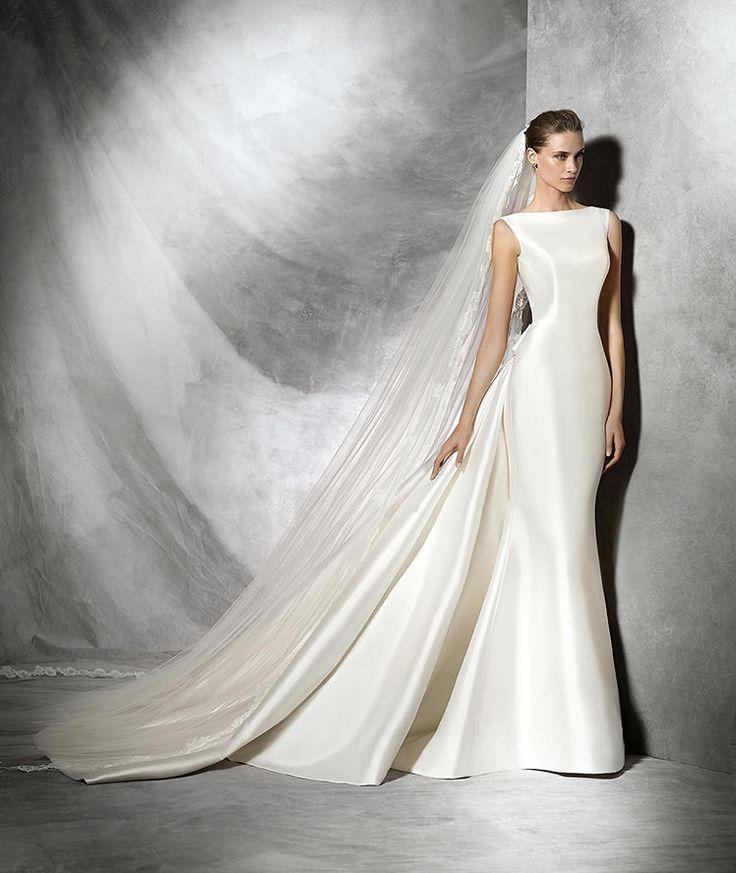 Trisa, vestido de novia original con estilo sirena