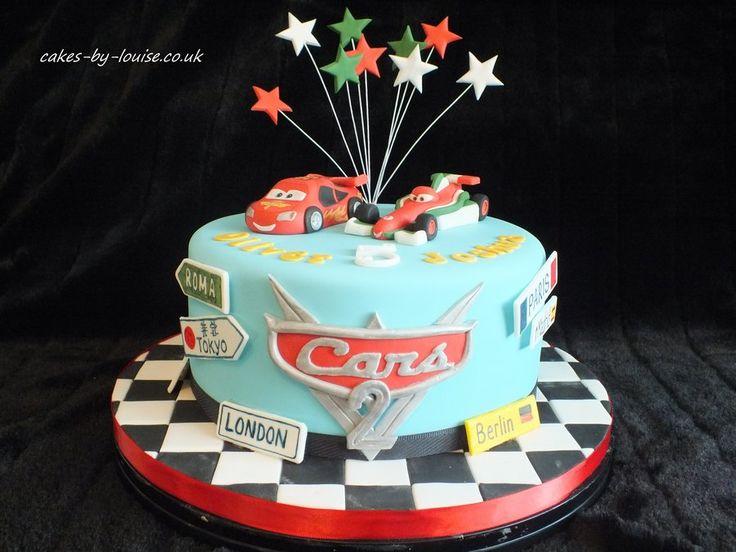 disney pixar cars cakes | Cars 2 cake - by cakesbylouise @ CakesDecor.com - cake decorating ...