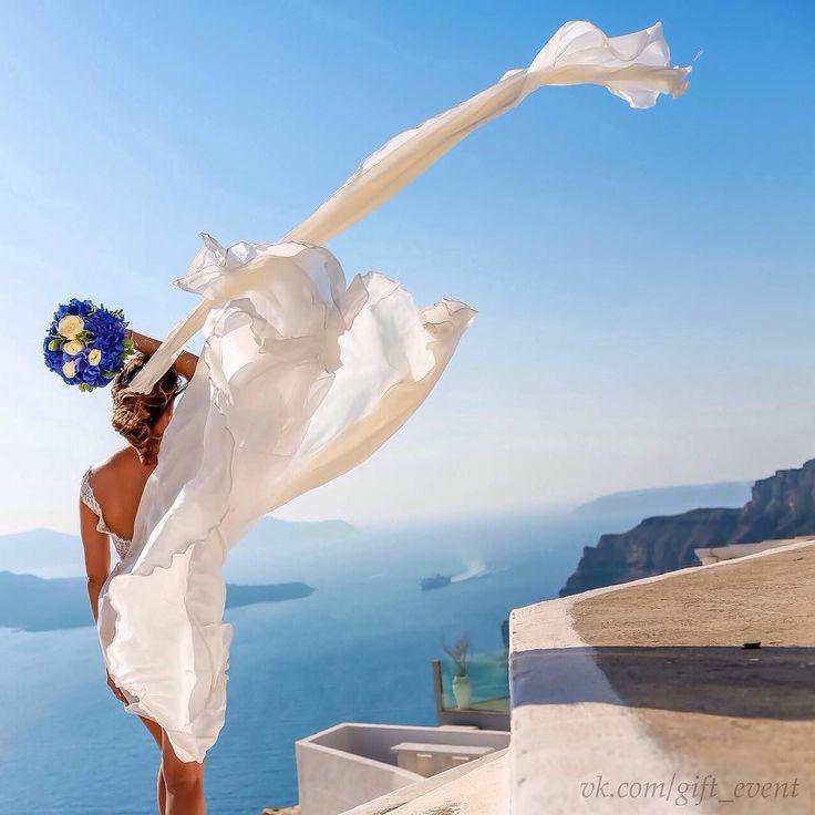 """Свадьба на Санторини! Если вы чувствуете что ваши чувства окрепли и прошли проверку на прочность может пришло время утроить себе праздник на самом романтическом острове! Это может быть романтическое объяснение в любви - клятва верности либо церемония бракосочетания или даже венчание в греческой православной церкви! Мы превратим ваше событие в незабываемый праздник для вас и ваших гостей и позаботимся о каждой детали! Бронируем даты на следующий год Event группа """"ПодарОк"""" - Мы дарим Праздник…"""