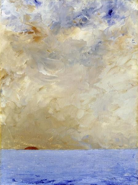 Sunset by August Strindberg