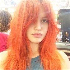 Moda: #Peach #hair: #capelli color pesca ricordo di fine estate (link: http://ift.tt/2cqlbrI )