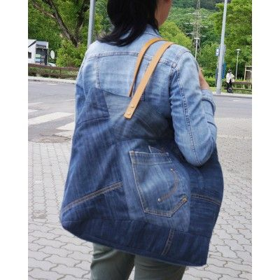 Cool Hobo Patchwork Shopper - XLarge