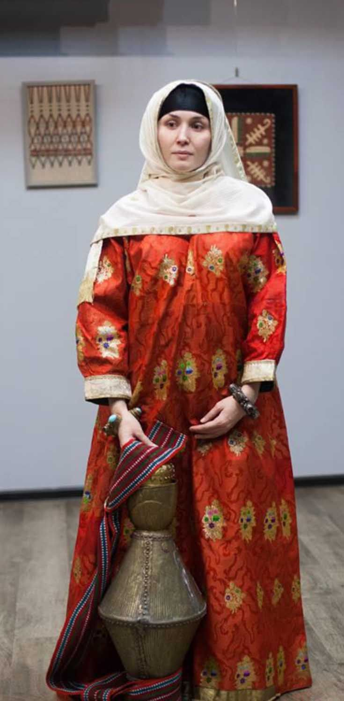 даргинский национальный костюм фото мужской и женский начальных классах