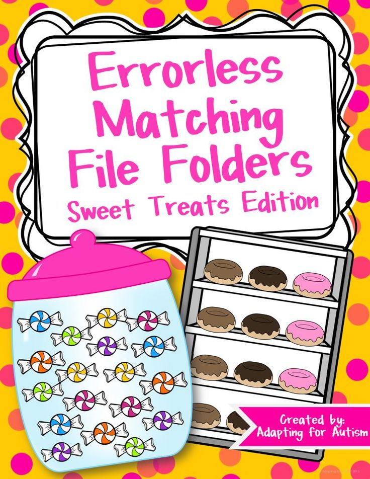 506 best file folder games images on pinterest file folder games errorless matching file folder activities for special education and autism fandeluxe Gallery