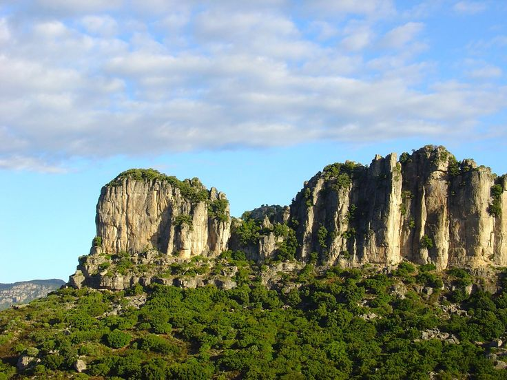 The majestic Tacchi of Jerzu #Ogliastra #Sardinia #Italy