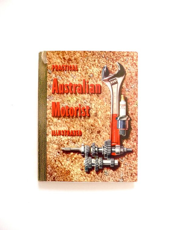 Practical Australian Motorist Illustrated Authentic Vintage