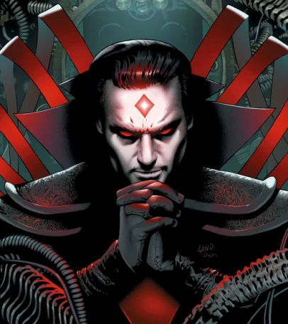 "Mister Sinister: During the 19th Century, Nathaniel Essex encountered Apocalypse who used his technology to transform Essex into ""Sinister,"" the last word his dying wife ever spoke to him."