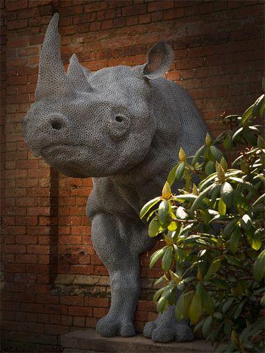 "Kendra Haste, ""Rhinoceros"""