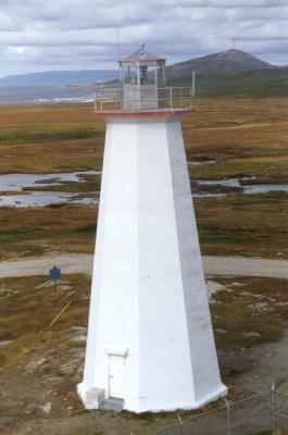 Cape Ray Light, Newfoundland, Canada