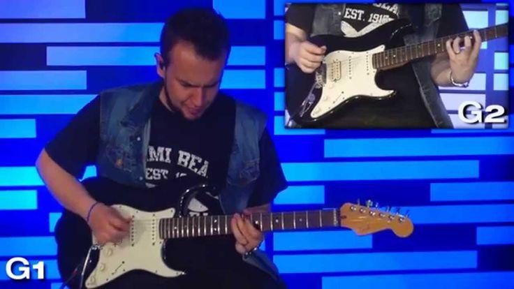 TUTORIAL DE GUITARRA Y GUITAR COVER ERES REY - SDV MUSIC