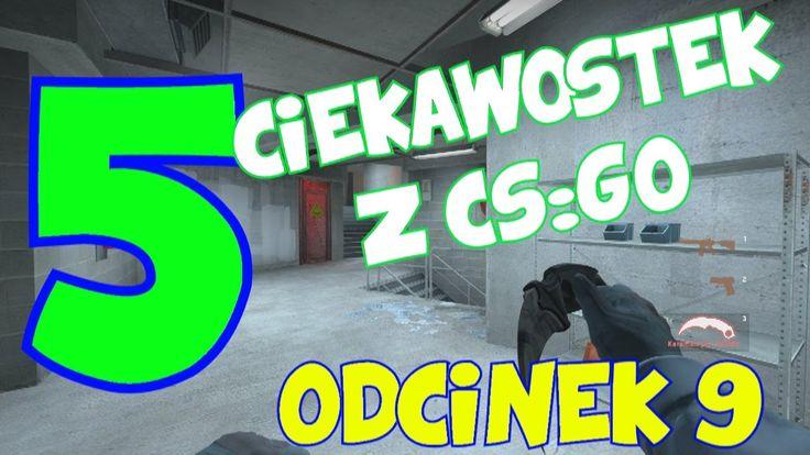 5 CIEKAWOSTEK Z CS:GO #9- skakanie, boosty, widok z trzeciej osoby
