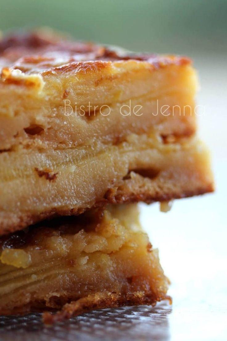 Clafoutis aux pommes golden   Un gâteau ultra rapide et délicieux avec les pommes de saison.