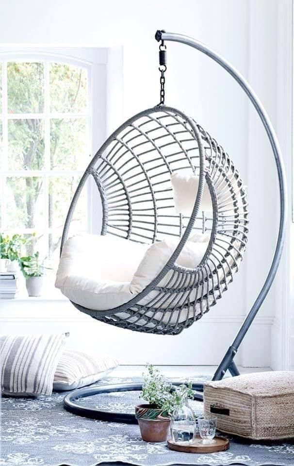 20 Superb Indoor Hanging Chair Ideas Artcraftvila In 2020 Bedroom Hammock Chair Swing Chair For Bedroom Hanging Chair Indoor