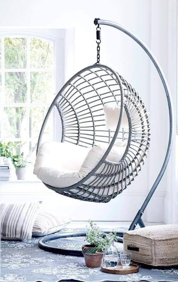 Indoor Hanging Chair For Bedroom