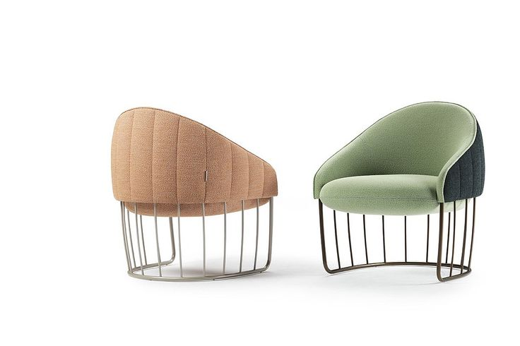 6 Boundary-Pushing Wire Form Furnishings   Tonella chair from Sancal. #design #interiordesign #interiordesignmagazine #seating @SANCALpinterest