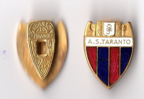 distintivo calcio A.S.TARANTO marcato