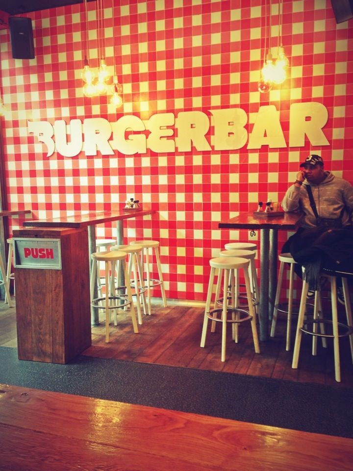 Burger Bar in Amsterdam