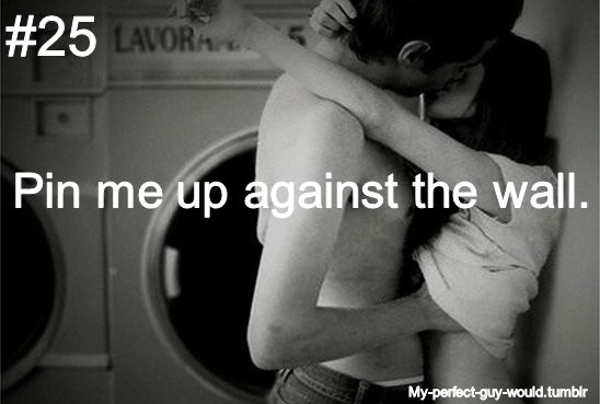 my perfect guy would...