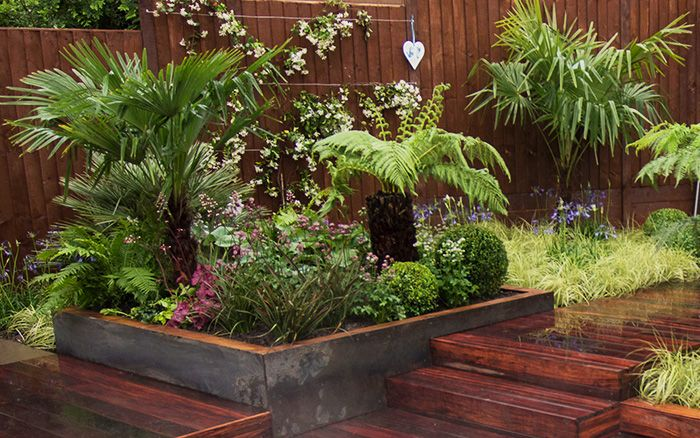 Love Your Garden with Alan Titchmarsh 2014 episode 3 beds plants for tropical garden