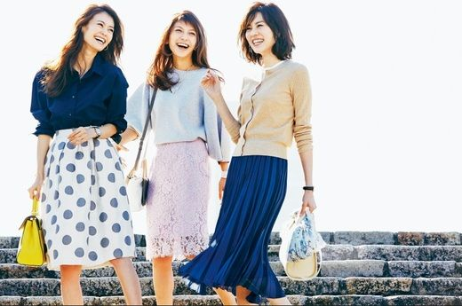 トレンドの1枚を買い足す? 手持ちのスカートを新しい着こなしにアップデート?  今っぽくスカートを着こなす13のアイディア #スカート #コーディネート #ファッション #ootd #fashion #葛岡碧 #安座間美優 #大石参月 #AneCan