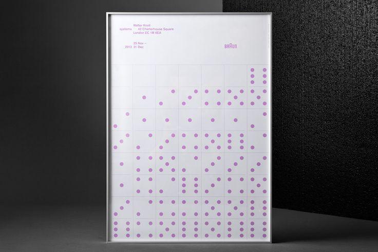 Lundgren+Lindqvist: Braun Systems Exhibition Poster