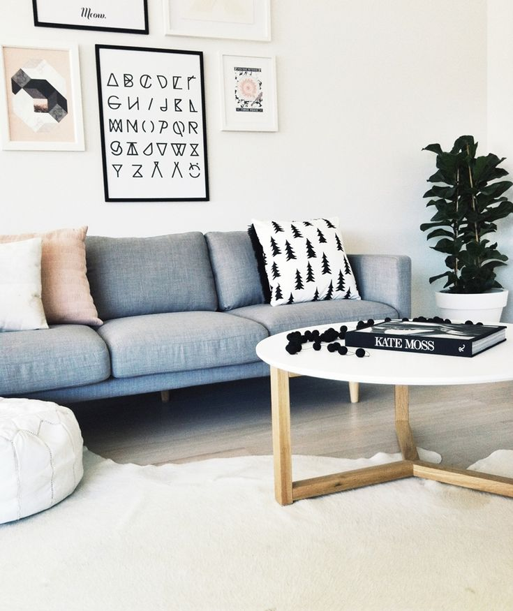 current loves | scandinavian living room #couch #livingroom  Love the alphabet print! Might make one!